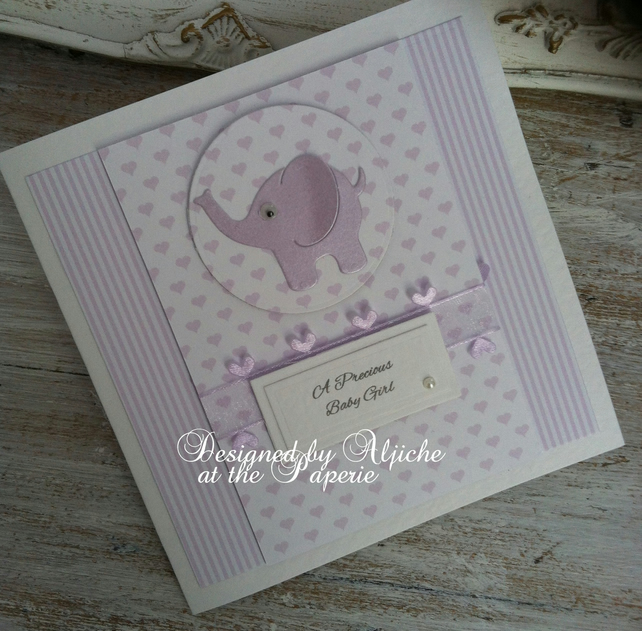 New Baby Card, Handmade,  New Baby Boy, New Baby Girl, Birthday, Personalized