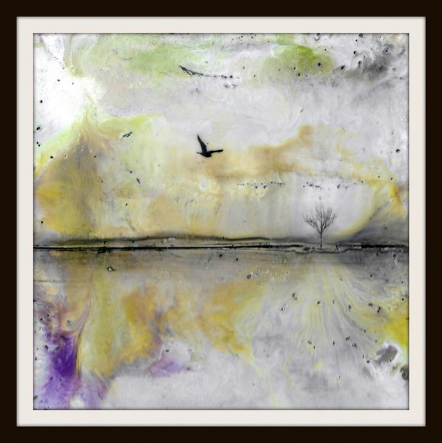 Abstract Landscape Giclee Print