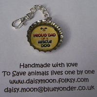 Rescue Dog Mobile phone Charm