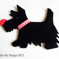Scottie Dog Bookmark - Stationary - Bookworm - Reading- Novelty - Gifts - Animal