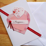 Someone Special Ribbon & Heart Card - Multiple Occasion Card