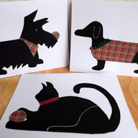 Trio of Animal Greeting Cards