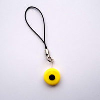 Retro Liquorice Sweet Phone Charm
