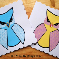 Owl Duo Blank Cards