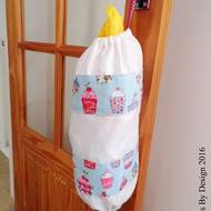 Cupcake Plastic Carrier Bag Holder