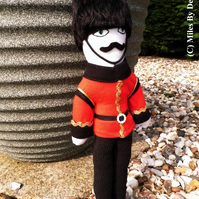 Commemorative  OOAK Queen's Guard Doll