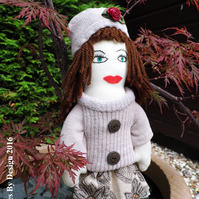 Autumn -  OOAK Handmade Doll
