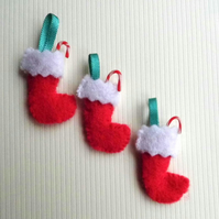 1:12 Scale Xmas Stockings, Candy Canes and Wrapping Paper set