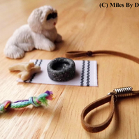 1:12 Scale Dolls House Miniature Dog Care Set