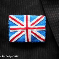 Union Jack Badge - Brooch