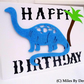 Happy Birthday Dinosaur Card