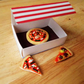 Trio of Pizza Magnets for Kitchen or Office - Food