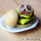 1:12 Scale Miniature Gourmet Burger for Dolls House - Food