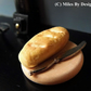 1:12 Scale Bread and Knife on Chopping Board for Dolls House - Food