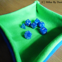 Roll Up Gamer's Dice Tray With Dice Included
