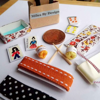 1:12 Scale Dolls House Haberdashery Set