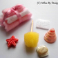1:12 Scale Luxury Bathroom Set with Pink Towel Bale & Accessories