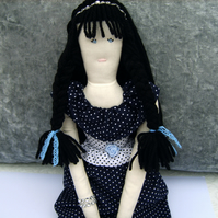 Lottie - OOAK Handmade Collector's Doll