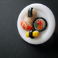 Sushi Plate On Adjustable Ring