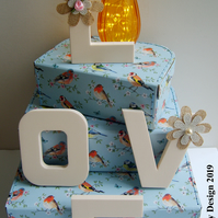 Love Decorated Foam Letters