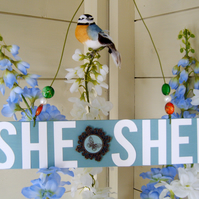 She Shed Decorative Wooden Hanging