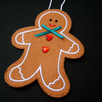 Xmas Hanging Gingerbread Person