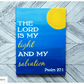 Psalm 27:1, Bible Quote Canvas, Wall Art, Home Decor, Canvas Painting