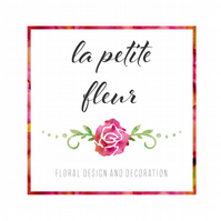 Exclusive premade floral watercolour logo