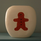 Ceramic Gingerbread Man Vase