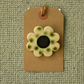 Ceramic Flower Brooch