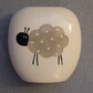 Ceramic Sheep Vase