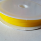 1 x 7m Roll Coloured Fibrewire Jewellery Elastic - 0.8mm - Yellow