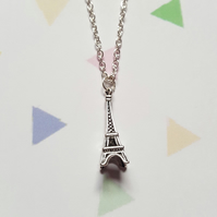Eiffel Tower Necklace (Chain)