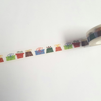 1 x 10m Roll Adhesive Craft Washi Tape - 15mm - Birthday Presents