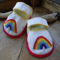 Rainbow Baby Shoes