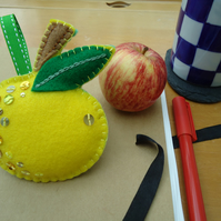Apple for Teacher, Yellow
