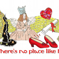 Wizard of oz, there's no place like home mug