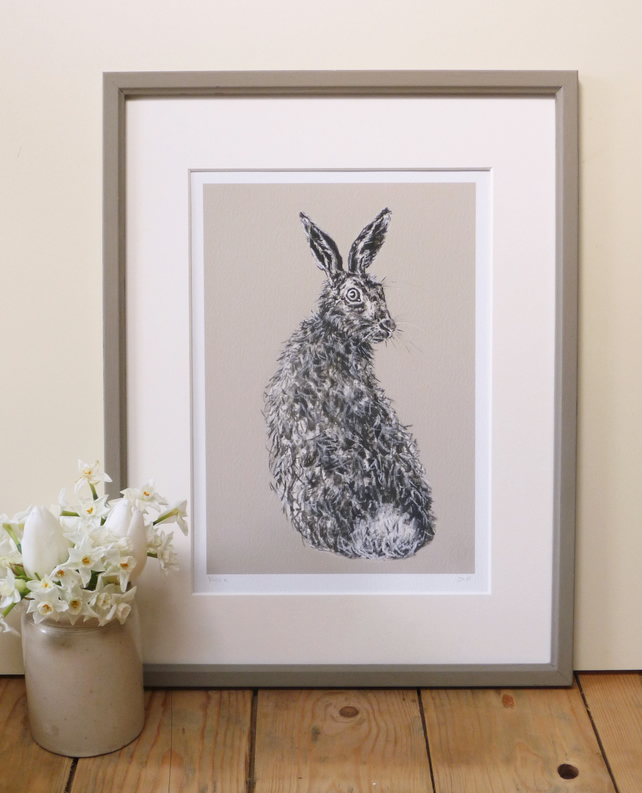 Signed Vince Hare Giclee Print