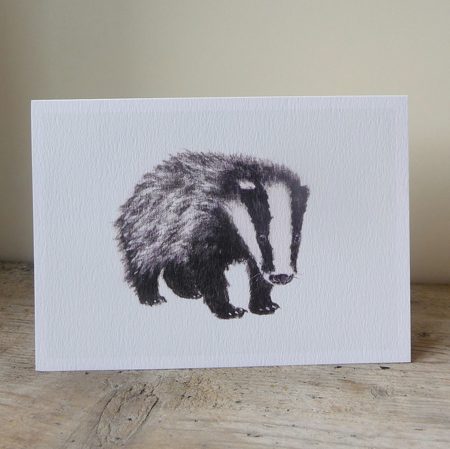 Boris Badger Card