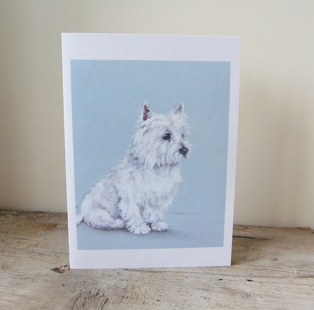 Whiskey Westie Card