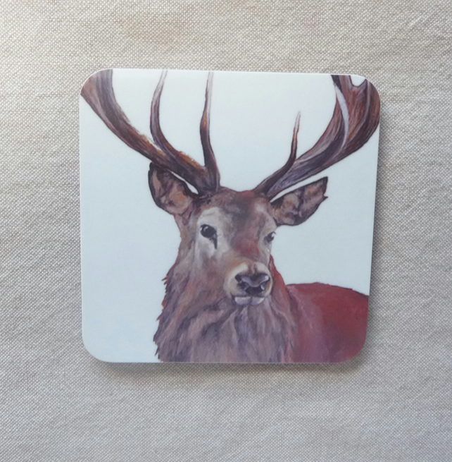 Handsome Stag Coaster