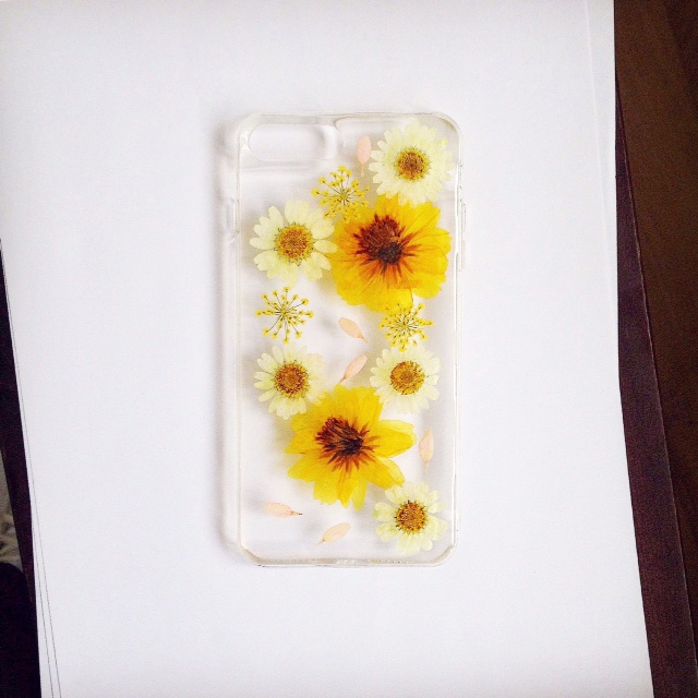 pressed flower case for iphone 7 plus