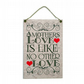 "Mothers Day ""A Mothers Love"" Handmade Home Sign 480"