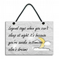 Legend Says When You Can't Sleep at Night Handmade Home Sign 569