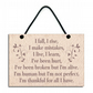 I Fall I Rise I Make Mistakes Inspirational Quote Handmade Wooden Home Sign 570
