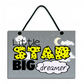 Little Star Big Dreamer Fun Gift Handmade Wooden Home Sign 615