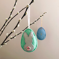 Easter bunny hanging decoration - Easter gift
