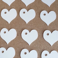 40 Heart Labels Thank You Price Tags Gift