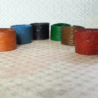 Leather Rings, Men's Jewellery, Men's gifts,
