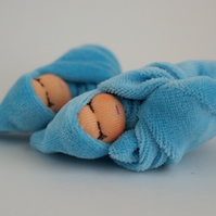 Tiny twin doll - boy baby dolls - blue baby dolls - baby shower gift